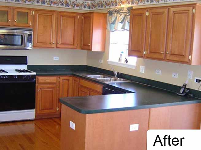 Here at Custom Cabinets Chicago, we offer cabinet refacing services which allows you to save money and improve the appearance of your home at the same time.